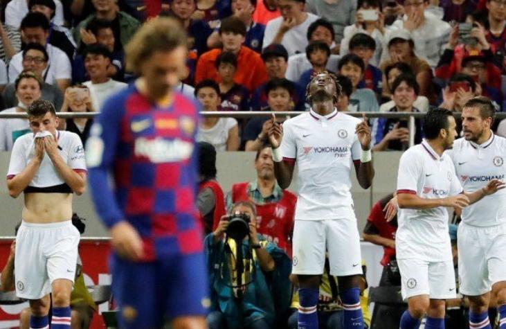 U tallën para ndeshjes me Chelsean, Barcelona e pëson edhe me afrimet e zhurmshme