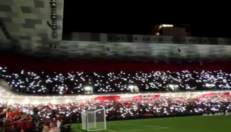 """Magjepsëse! Pamjet e fundit nga """"Air Albania"""", spektakël që të rrënqeth para Francës"""