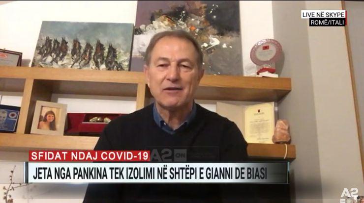 De Biazi: Ndihma e Shqipërisë për Italinë duhet të jetë lajmi i parë në gjithë botën