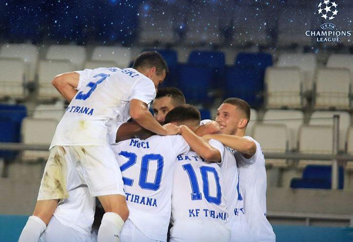 """VIDEO/ Tirana krenon Shqipërinë në turin e parë, ndaj Zvezdës për """"Champions League"""""""