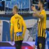 Katër gola në pesë minutat e fundit, Mavraj fiton penallti dhe Basha kapiten në çmendurinë greke